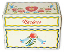 Grandma's Recipe Box